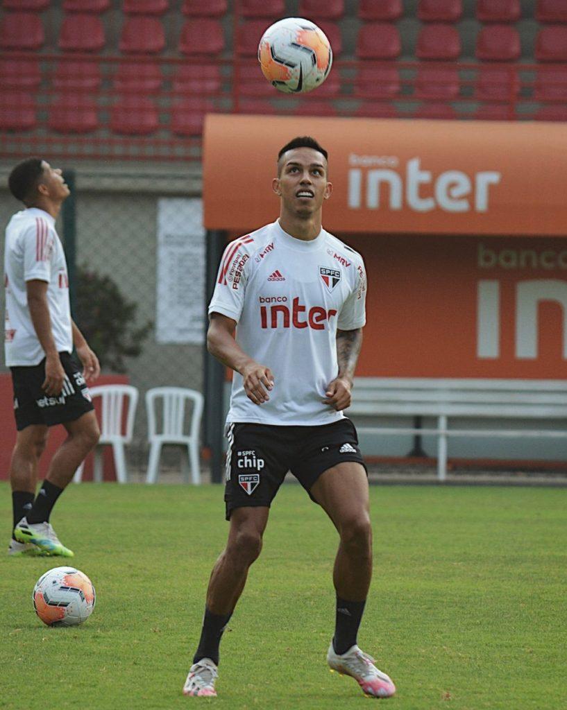 Pablo retorna aos treinamentos no São Paulo e pode ser reforço para a  partida contra o River Plate, pela Libertadores - Joga10 News